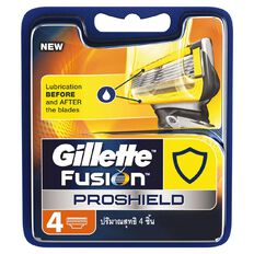 Gillette Fusion Proshield Base Cartridge 4 Pack