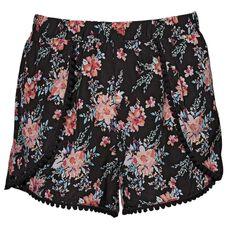 A'nD Print Pom Pom Shorts