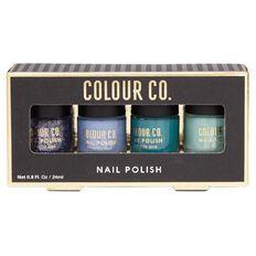 Colour Co. Nail Polish Blues and Greens 4 Pack
