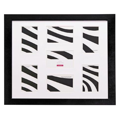 Living & Co Collage Frame Geneva Black 40cm x 50cm