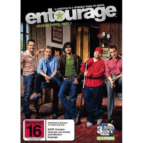 Entourage Series 3 Part A DVD 3Disc