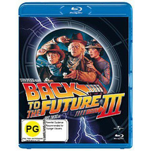 Back To The Future 3 Blu-ray 1Disc