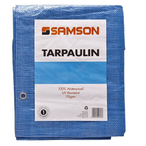 Samson Tarpaulin Blue 70gsm 4ft x 6ft