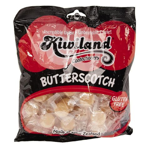 Kiwiland Butterscotch Sweets