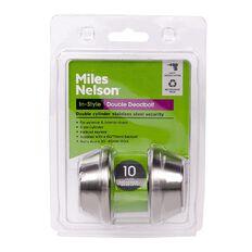 Miles Nelson Double Keyed Cylinder Deadbolt