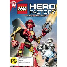 LEGO Hero Factory Rise of The Rookies DVD 1Disc