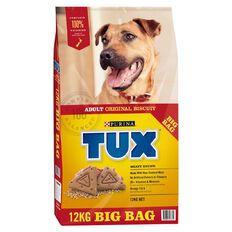 TUX Adult Original Meaty Dry Dog Food 12kg