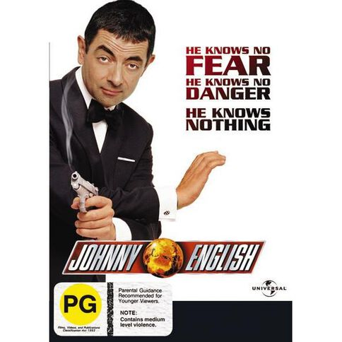 Johnny English DVD 1Disc