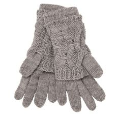 Debut Diamond Knit Gloves