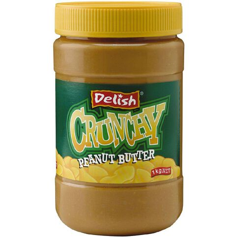 Delish Delish Crunchy Peanut Butter 1kg