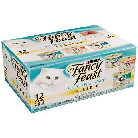 Fancy Feast Fish 12 x 85g Tray