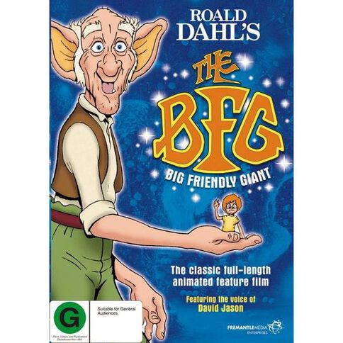 The Big Friendly Giant DVD 1Disc