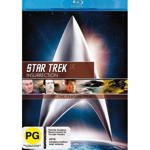 Star Trek 9 Insurrecti Blu-ray 1Disc