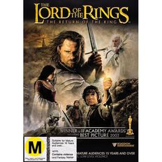 The Lord Of The Rings Return of The King DVD 1Disc