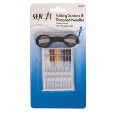 Sew It Folding Scissors And Thread Needles