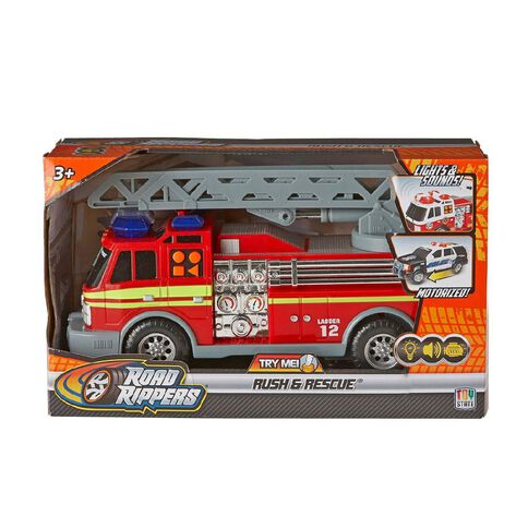 Road Rippers Rush and Rescue Vehicle Assorted 12 inch