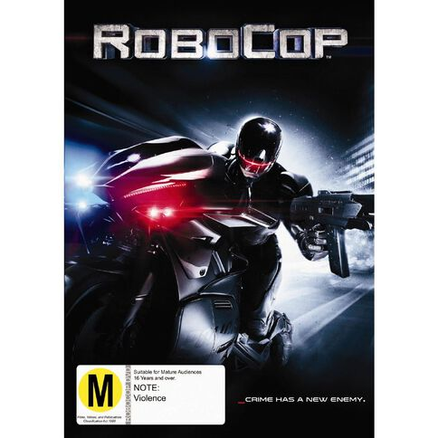 Robocop 2013 DVD 1Disc