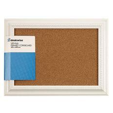 Deskwise Cork Board Vienna Frame 300mm x 400mm