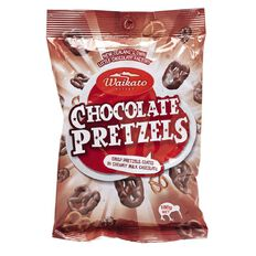 Waikato Valley Chocolates Chocolate Pretzels 180g