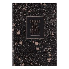 Stylo Copper Blush Hardcover Notebook with Copper Foil A5