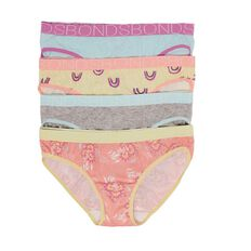 Bonds Girls' Bikini Briefs 4 Pack