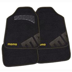 Momo Car Mats Black/Yellow