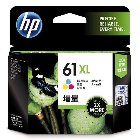 HP Ink Cartridge 61XL Tri-Colour