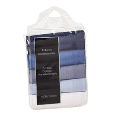 Accessories Men's Essentials Handkerchiefs 5 Pack