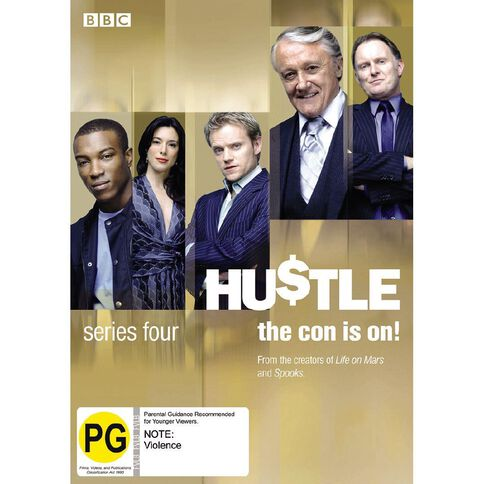 Hustle Season 4 DVD 2Disc