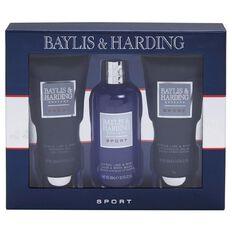 Baylis & Harding Men's Sport Citrus Lime & Mint 3 Piece Set
