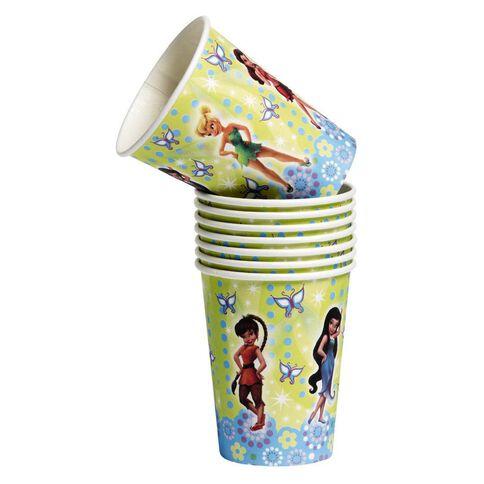 Disney Fairies Cups 266ml 8 Pack