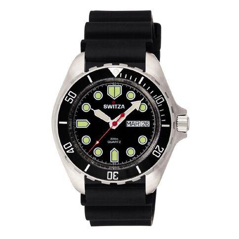 Switza Men's Stainless Steel Divers Watch