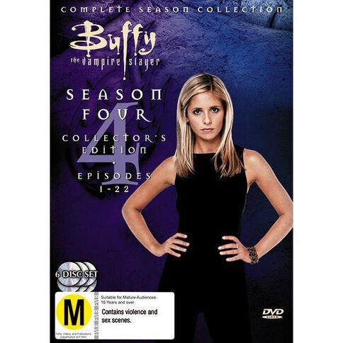 Buffy Season 4 DVD 6Disc