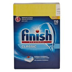 Finish Auto Dishwasher Classic Tabs 110 Pack