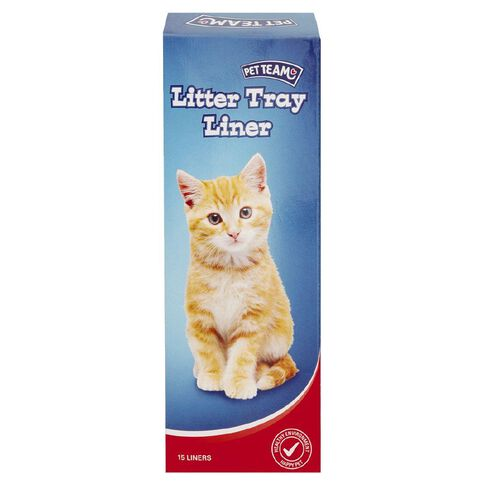 Pet Team Litter Tray Liners 15 Pack