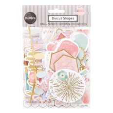 Rosie's Studio Pink Lemonade Cardstock Diecuts 118 Piece
