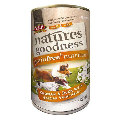 Natures Goodness Dog Chicken/Duck and Garden Vegetables 400g