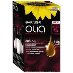 Garnier Olia Hairdye 6.66 Very Intense Red