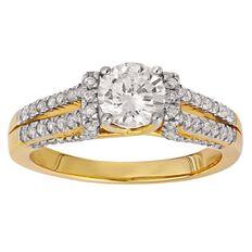 1.5 Carat of Diamonds 18ct Gold Diamond Fancy Ring