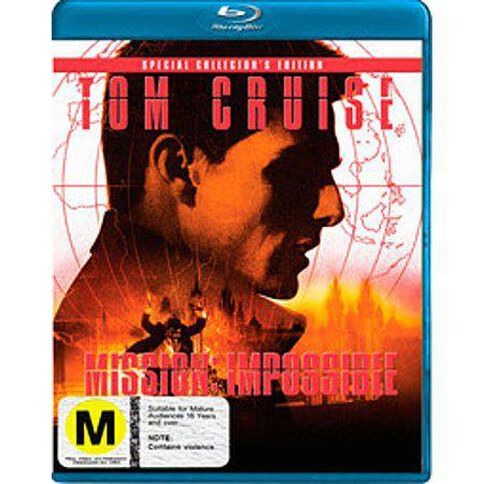 Mission Impossible 1 Blu-ray 1Disc