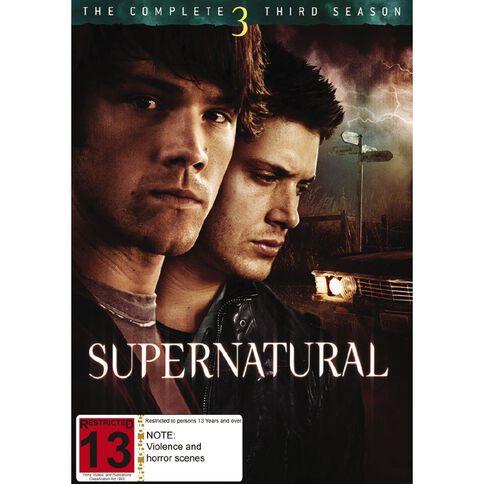 Supernatural Season 3 DVD 6Disc
