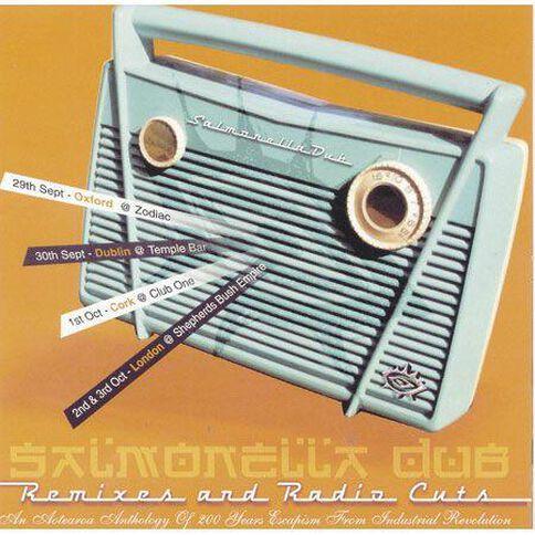 CD/DVD Salmonella Dub Remixes and Radio Cuts