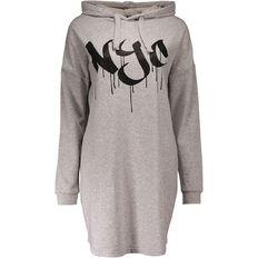 Garage Hooded Sweater Dress