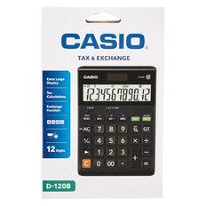 Casio Desk Top Calculator D120B Dark Brown