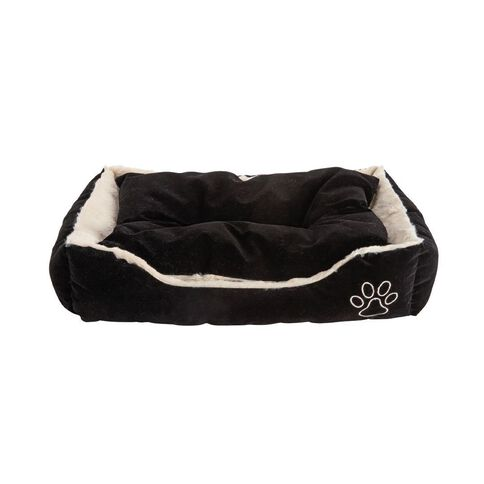 Lil Buddy Dog Bed Super Soft Rectangle Gold Small