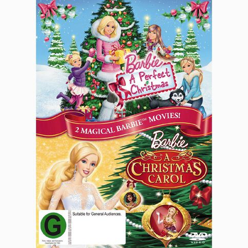 Barbie A Perfect Christmas And Barbie In A Christmas Carol DVD 1Disc