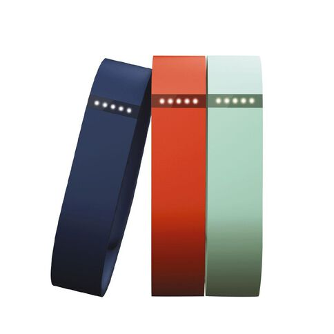 Fitbit Flex Accessory Bands 3pk Teal Navy Tangerine Small