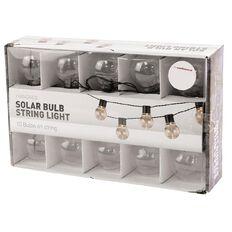 Living & Co Solar Bulb String Light 10LED
