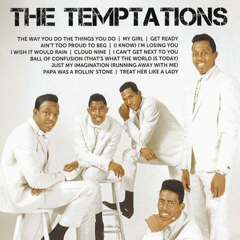 Icon CD by The Temptations 1Disc