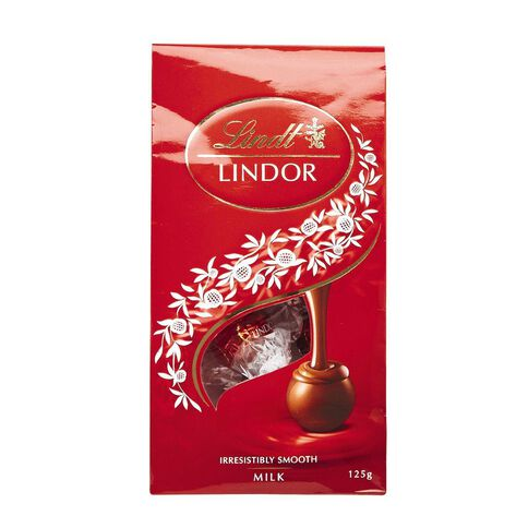 Lindt Lindor Milk Pralines Pouch 125g